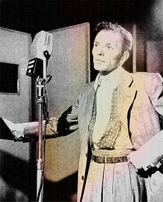 Frank Sinatra 1947 Art Print by Ericamaxine Price
