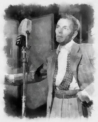 Frank Sinatra Painting - Frank Sinatra 1947 by Esoterica Art Agency