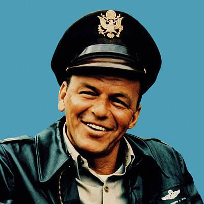 Digital Art - Frank Sinatra 23 by Frank Sinatra