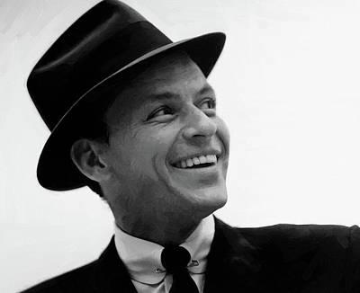Digital Art - Frank Sinatra 25 by Frank Sinatra