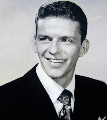 Digital Art - Frank Sinatra 4 by Frank Sinatra