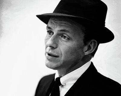 Digital Art - Frank Sinatra 5 by Frank Sinatra