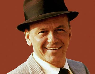 Digital Art - Frank Sinatra 6 by Frank Sinatra