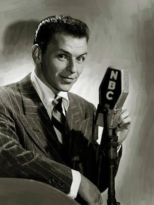Digital Art - Frank Sinatra 7 by Frank Sinatra