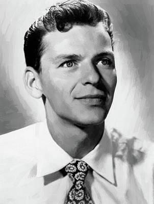 Digital Art - Frank Sinatra 8 by Frank Sinatra