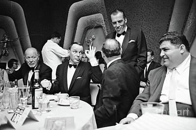 Photograph - Frank Sinatra And Buddy Ed Sullivan  by Doc Braham