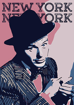 Jazz Royalty-Free and Rights-Managed Images - Frank Sinatra by Greatom London
