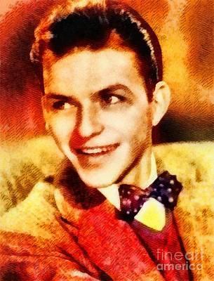 Frank Sinatra Painting - Frank Sinatra, Hollywood Legend By John Springfield by John Springfield