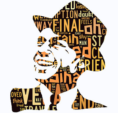 Actors Mixed Media - Frank Sinatra I Did It My Way by Marvin Blaine