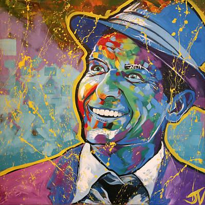 Painting - Frank Sinatra by Jay V Art
