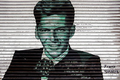 Photograph - Frank Sinatra by Jean Haynes