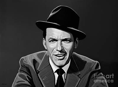 Icons Mixed Media - Frank Sinatra by Meijering Manupix