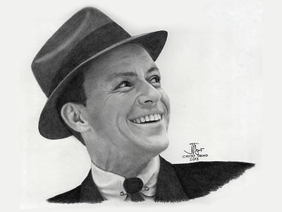 Frank Sinatra Old Blue Eyes Original by Chito Seno