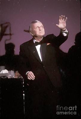 Painting - Frank Sinatra Painting by Concert Photos