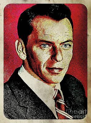 Frank Sinatra Pop Art Art Print