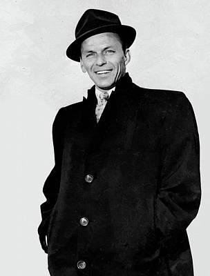 Digital Art - Frank Sinatra Portrait 2 by Frank Sinatra