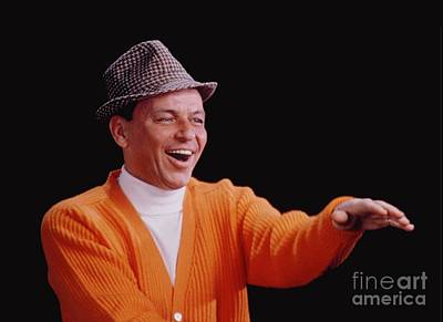 Frank Sinatra Photograph - Frank Sinatra Promotional Photo From 1964 by The Titanic Project