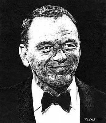 Frank Sinatra Drawing - Frank Sinatra by Rob Payne