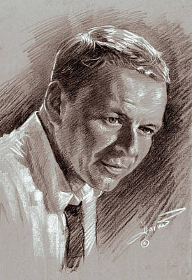Pack Drawing - Frank Sinatra  by Ylli Haruni