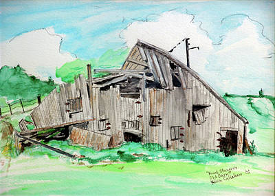 Painting - Frank Stanger's Old Barn by Kevin Callahan
