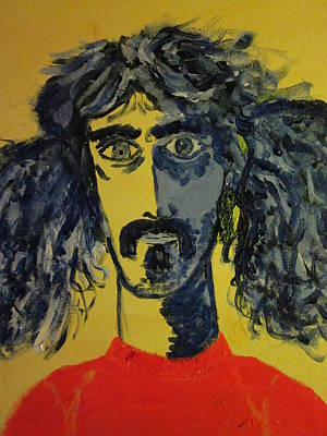 Painting - Frank Zappa by David Sutter