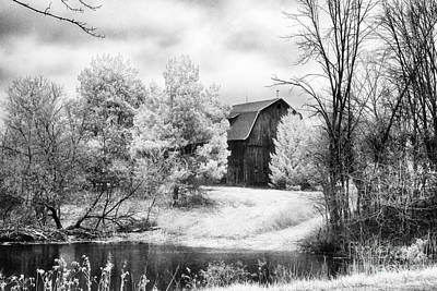 Frankenmuth Farm Art Print by Jeff Holbrook