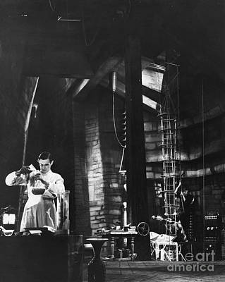 Photograph - Frankenstein, 1931 by Granger