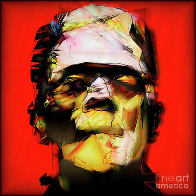 Horror Movies Photograph - Frankenstein 20170325 V3 Square by Wingsdomain Art and Photography