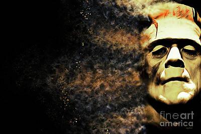 Digital Art - Goodbye Cruel World Love Frankenstein 20161101 by Wingsdomain Art and Photography