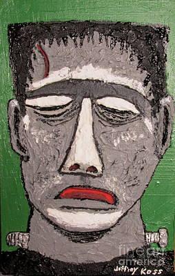 Mixed Media - Frankenstein by Jeffrey Koss