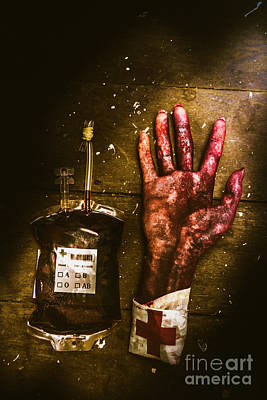 Medicines Photograph - Frankenstein Transplant Experiment by Jorgo Photography - Wall Art Gallery