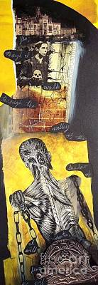Frankenstein Mixed Media - Frankenstein by Xoey HAWK