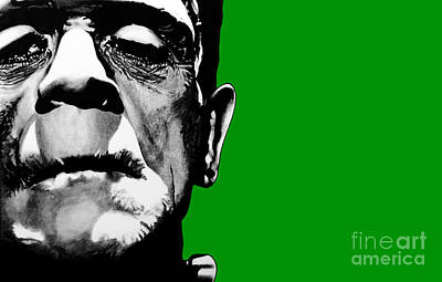 Frankenstein's Monster Signed Prints Available At Laartwork.com Coupon Code Kodak Art Print by Leon Jimenez