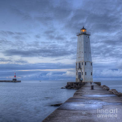 Frankfort Light Art Print by Twenty Two North Photography