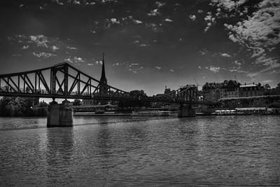 Photograph - Frankfurt Am Main 001 Bw by Lance Vaughn