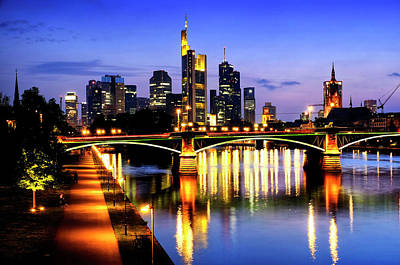 Photograph - Frankfurt Am Main by Fabrizio Troiani