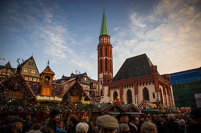 Photograph - Frankfurt Christmas Market by Bill Howard