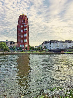 Photograph - Frankfurt - Main Plaza Tower by Gabriele Pomykaj