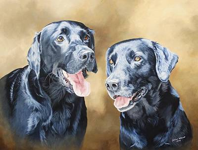 Wall Art - Painting - Frankie And Ross by Julian Wheat