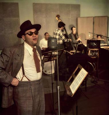 Photograph - Frankie Lane, 1940s by William Gottlieb