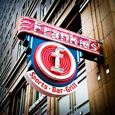 Frankie's Sports Bar And Grill Art Print