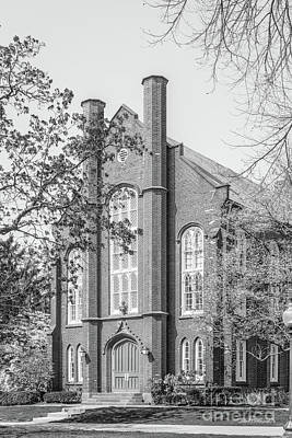 Franklin And Marshall College Goethian Hall Art Print by University Icons