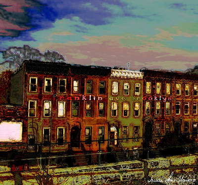 Franklin Ave. Bk Art Print