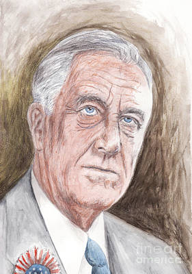 Invalid Painting - Franklin Delano Roosevelt by Northern Wolf