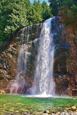 Photograph - Franklin Falls by Bruce Bley