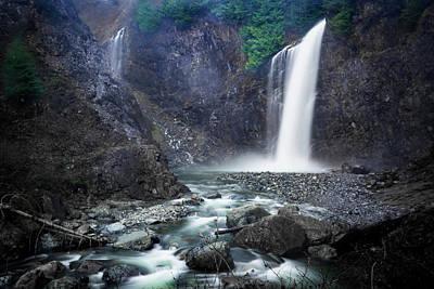 Photograph - Franklin Falls by Crystal Hoeveler