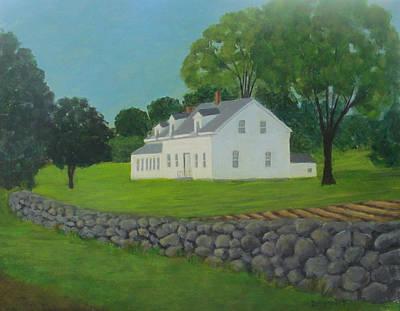 Franklin Farm Art Print