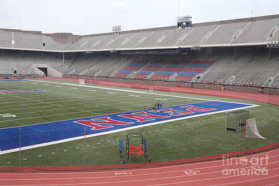 Franklin Field Photograph - Franklin Field Phil  by Chuck Kuhn
