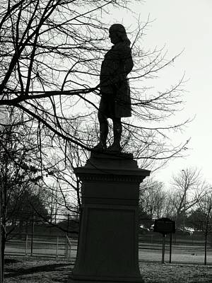 Photograph - Franklin In Silhouette by Wild Thing