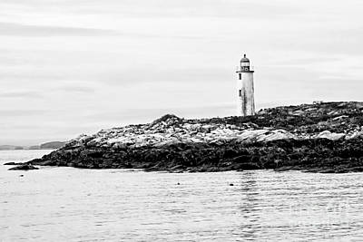 Photograph - Franklin Island Lighthouse by Marcia Lee Jones